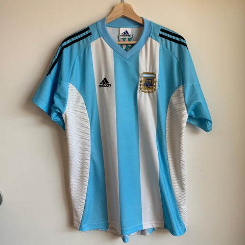 adidas Argentina 2002/04 Home Soccer Jersey