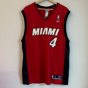 Reebok Caron Butler Miami Heat Red Basketball Jersey