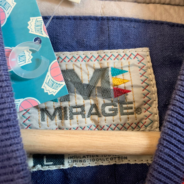 Mirage New York Giants Blue & Red Varsity Jacket