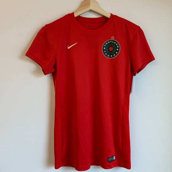 Nike Allie Long Portland Thorns Red Women's Soccer Jersey