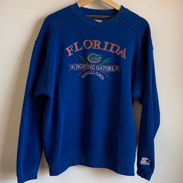 Starter Florida Gators Blue Crewneck Sweatshirt