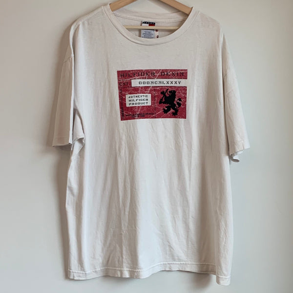 Tommy Hilfiger Jeans White Tee Shirt