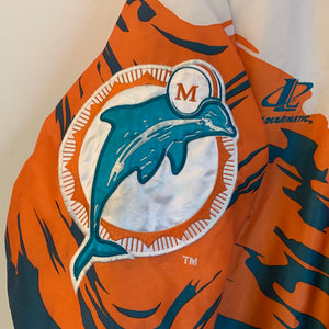 Logo Athletic Miami Dolphins Parka Jacket