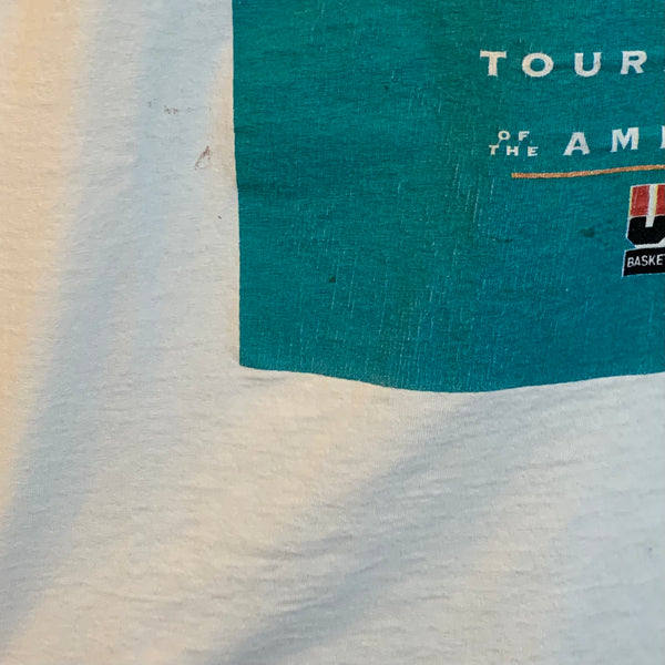 "1992 Starter USA Basketball ""Tournament Of The Americas"" Portland Tee Shirt"
