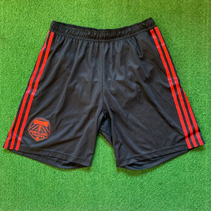 Adidas Portland Timbers Red and Black Shorts