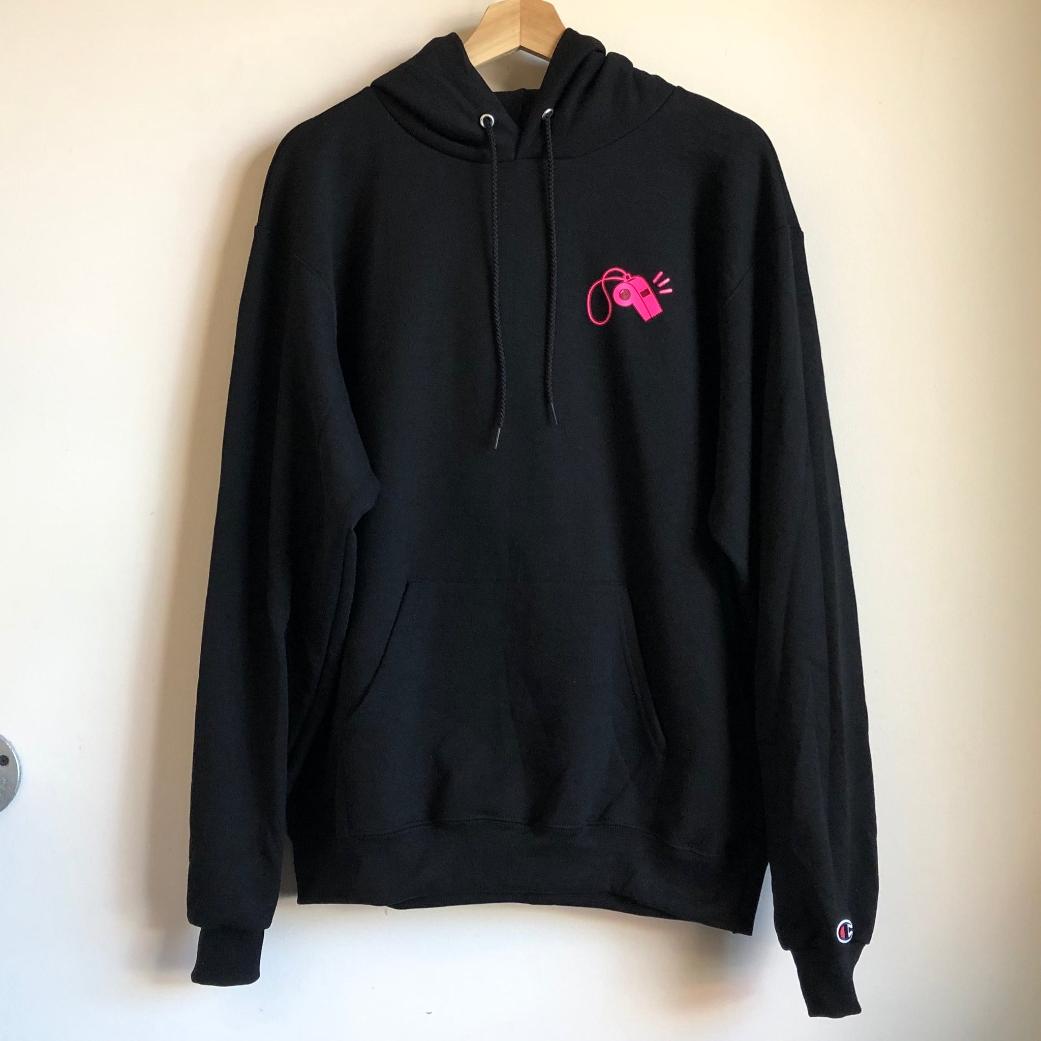 Laundry Whistle Hoodie (Black)