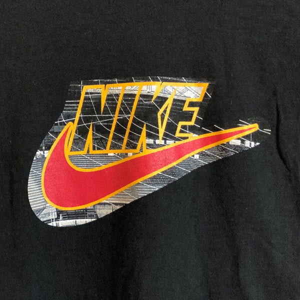 Nike Stadium Logo Black Tee Shirt