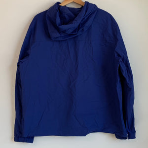 Tommy Hilfiger Blue Half-Zip Windbreaker Jacket