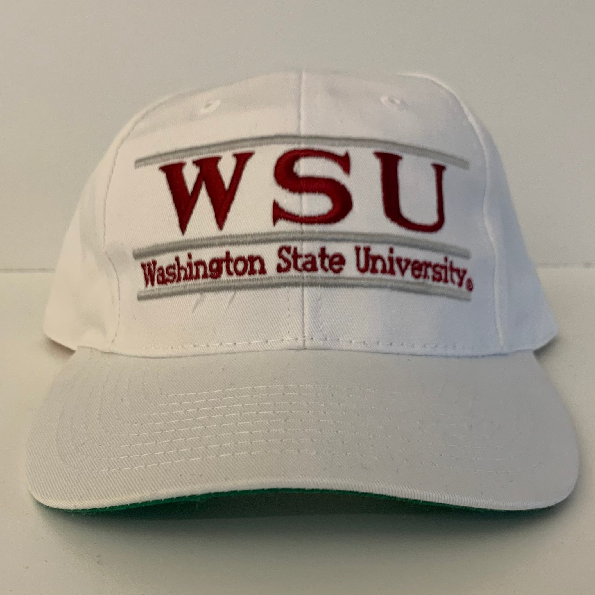 Russell Athletic Washington State WSU Cougars White Snapback