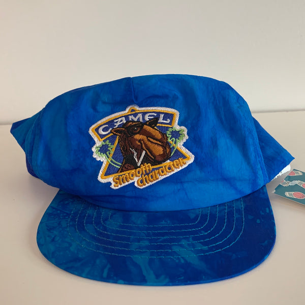 "Camel Cigarettes ""Smooth Character"" Blue Snapback"