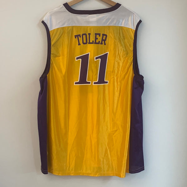Champion Penny Toler Los Angeles Sparks Yellow Basketball Jersey