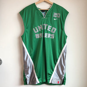"Nike Gary Payton ""The Glove"" United Ballers Green Basketball Jersey"