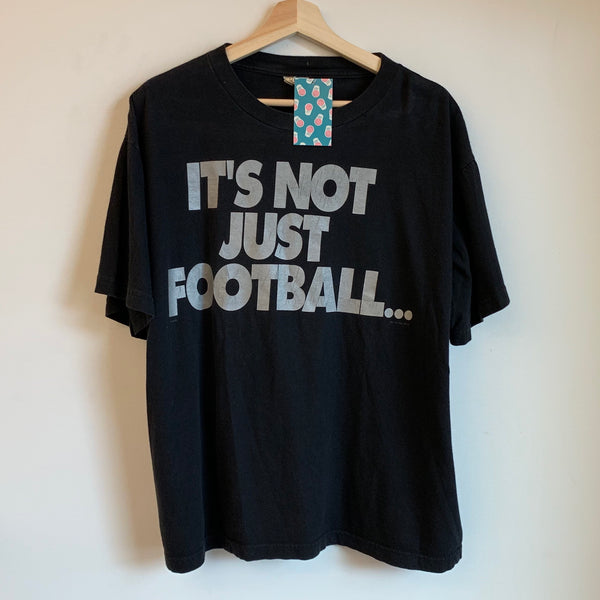 """It's Not Just Football..."" Oakland Raiders Black Tee"
