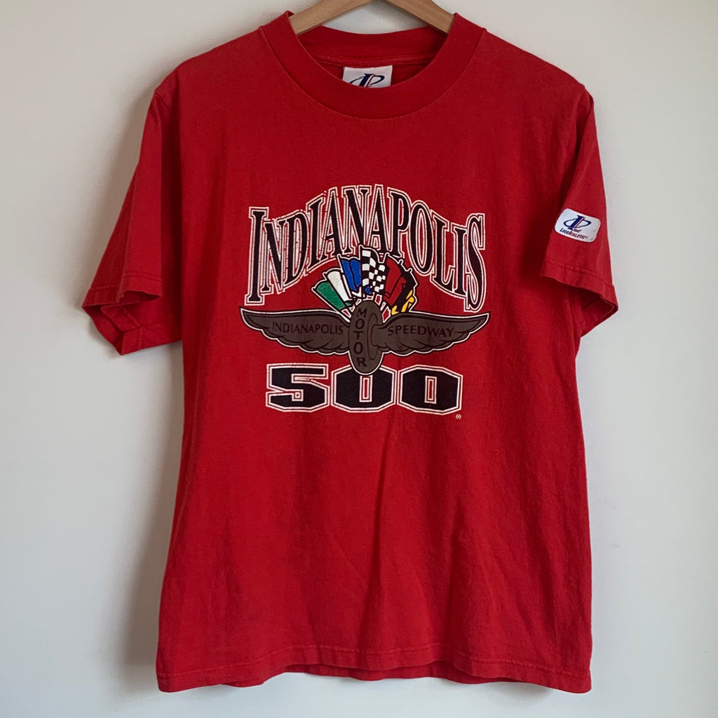Logo Athletic Indianapolis Motor Speedway 500 Red Tee Shirt