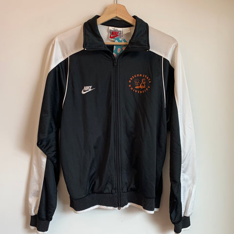 Nike Gray Tag Oregon Beavers Soccer Track Jacket