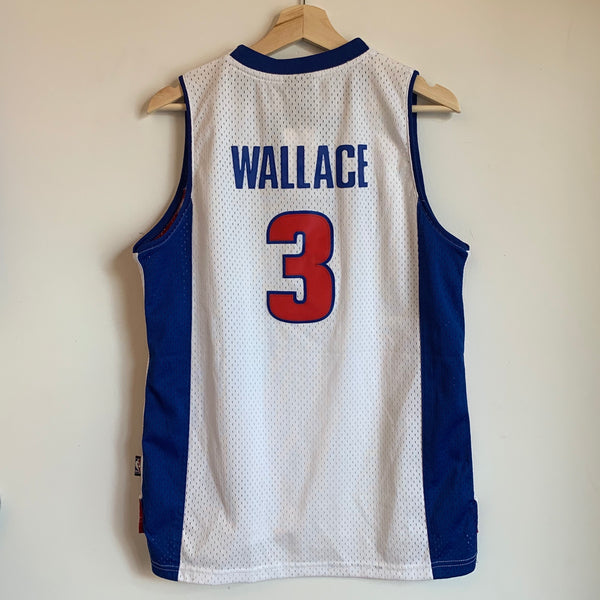 Reebok Ben Wallace Detroit Pistons Youth Swingman Basketball Jersey
