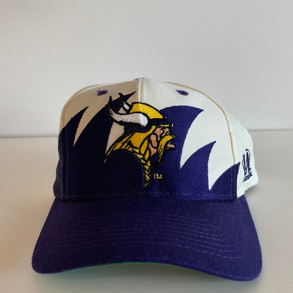 Logo Athletic Minnesota Vikings Sharktooth Snapback