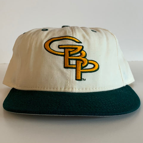 Green Bay Packers White Fitted Hat