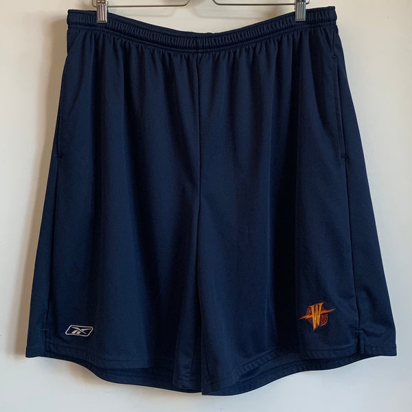 Reebok Golden State Warriors Navy Basketball Shorts