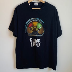 Guitar Hero I Rock Black Tee Shirt