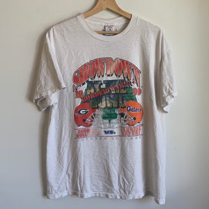 1999 Georgia Bulldogs / Florida Gators Football Tee Shirt