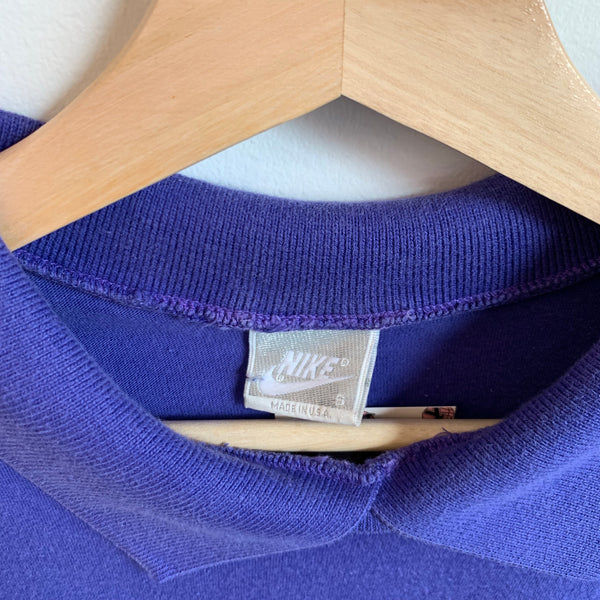 Nike Purple L/S Polo Shirt