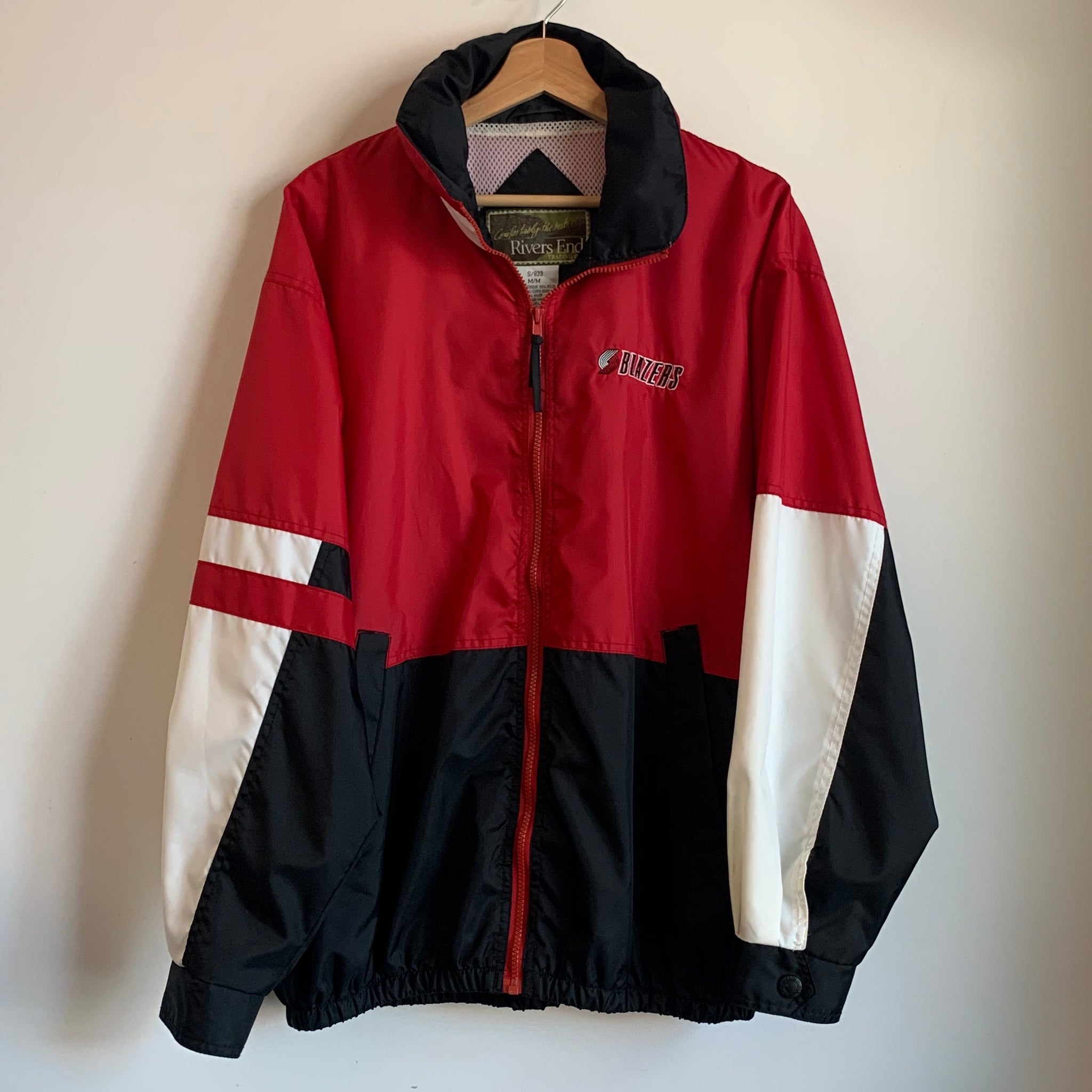 Portland Trail Blazers Windbreaker w/ Packable Hood