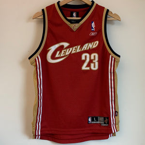 Reebok LeBron James Cleveland Cavaliers Youth Swingman Basketball Jersey