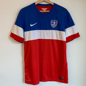 "Nike USMNT USA 2014 World Cup ""Bomb Pop"" Soccer Jersey"