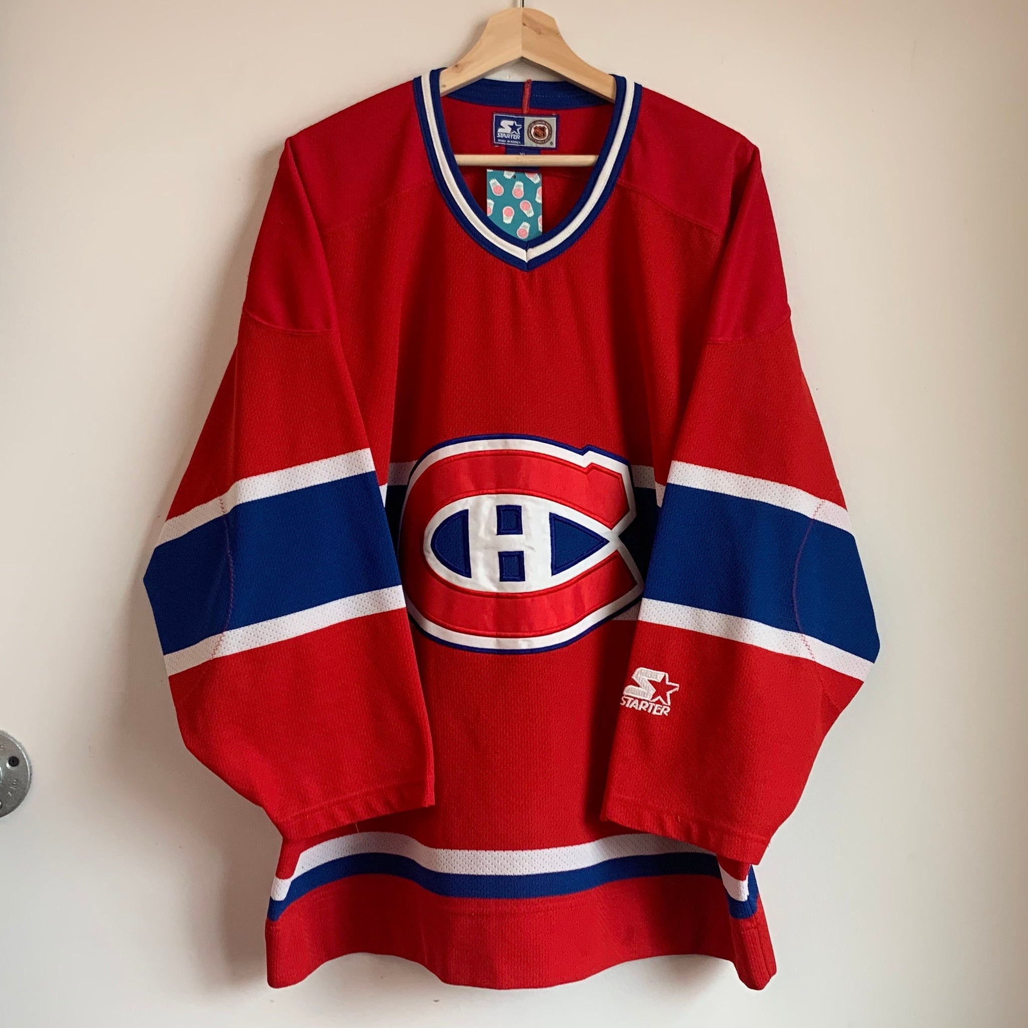 Starter Montreal Canadiens Red Hockey Jersey
