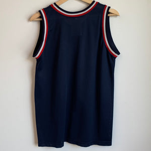 Champion Usa Dream Team 2 Blank Navy Youth Basketball Jersey