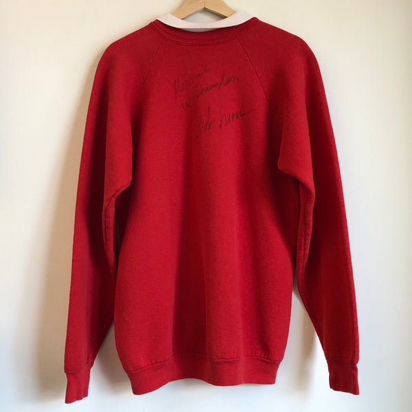 Portland Trail Blazers Convertible Collar Autographed Sweatshirt