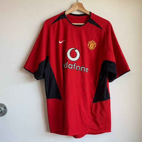 Nike Manchester United Red Devils 2002/04 Home Soccer Jersey