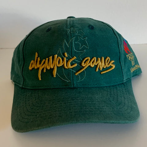 The Game 1996 Atlanta Olympic Games Green Snapback