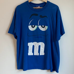 M&M's Blue Character Tee Shirt