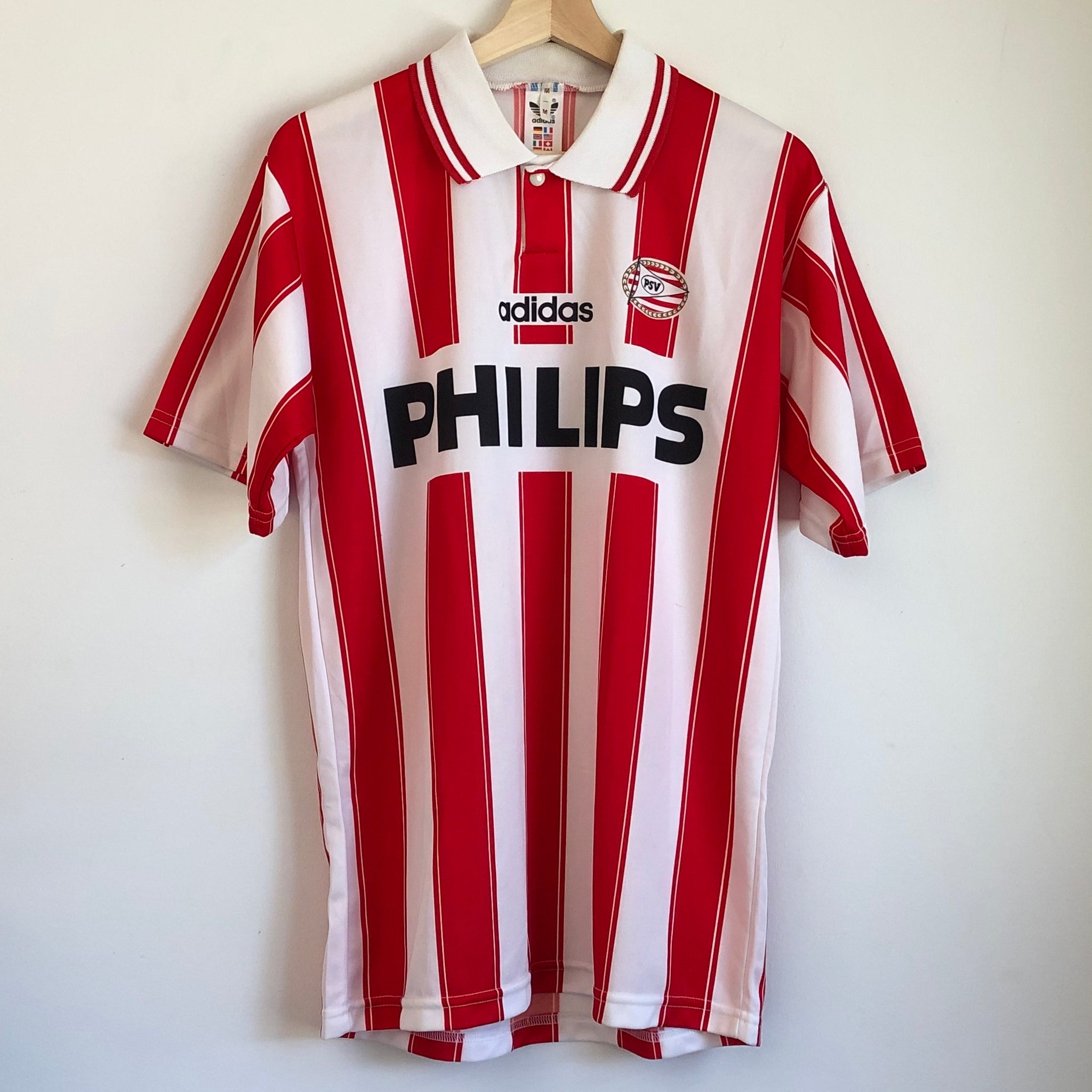 adidas PSV Eindhoven 1994/95 Home Soccer Jersey