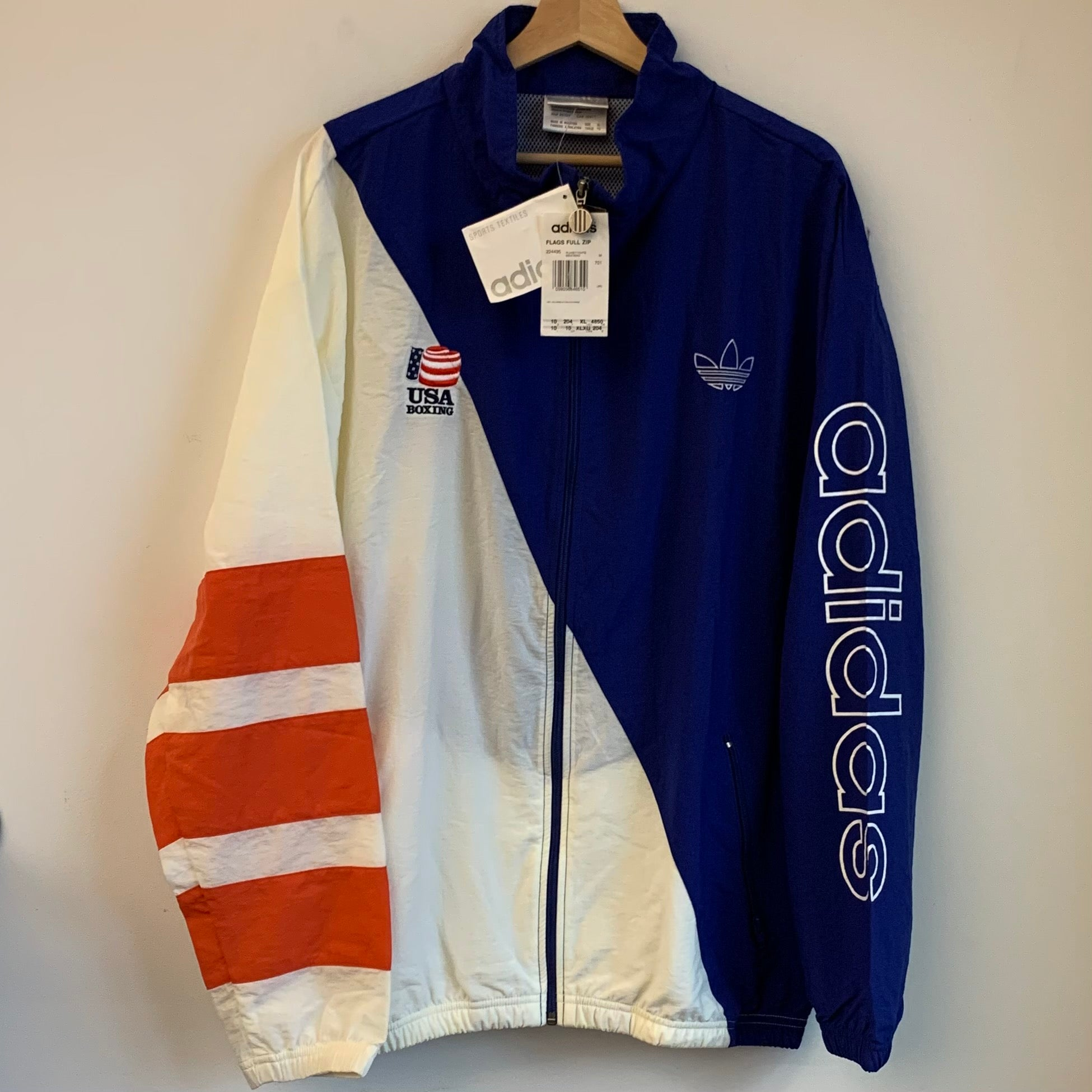 adidas USA Boxing Windbreaker Jacket