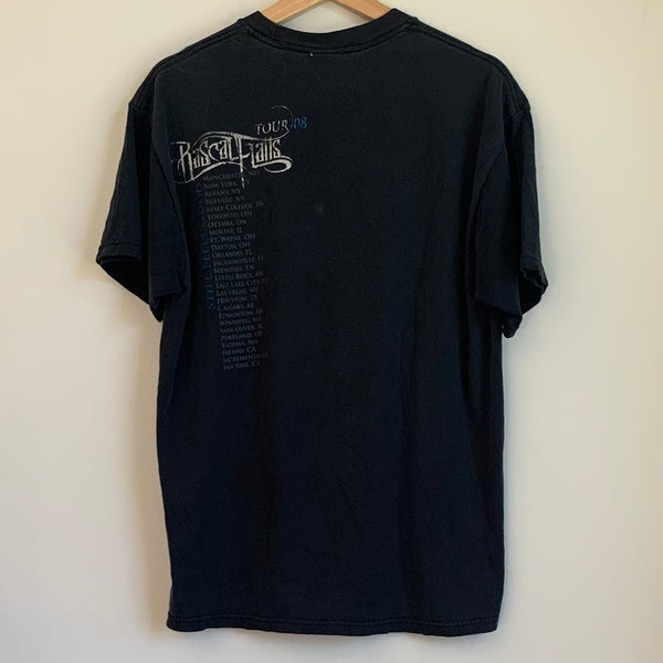 Rascal Flatts 2008 Still Feels Good Tour Black Tee Shirt