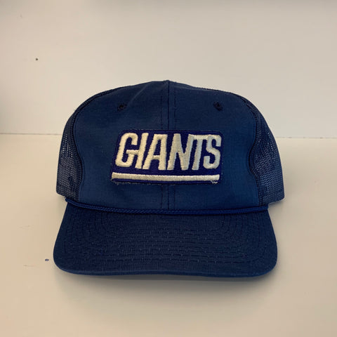 New York Giants Blue Trucker Hat