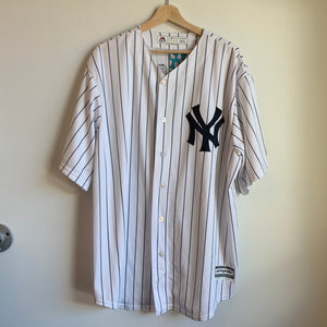 Majestic Aaron Judge New York Yankees White Baseball Jersey