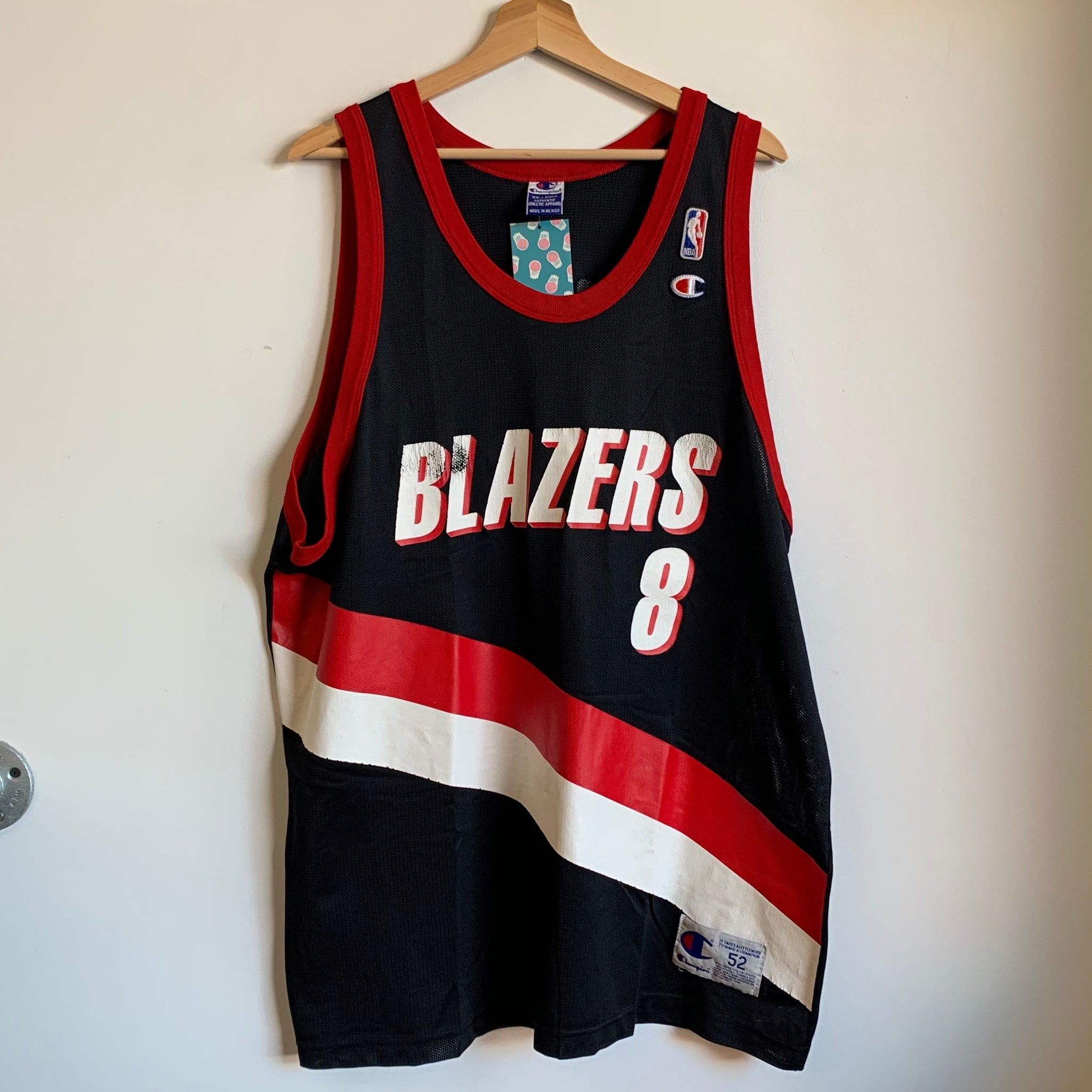 Champion Steve Smith Portland Trail Blazers Black Basketball Jersey