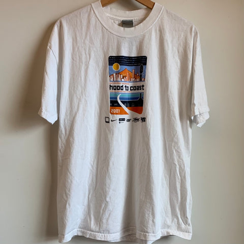 2001 Nike Hood To Coast Marathon Tee Shirt