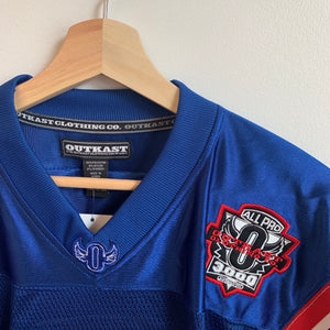 Outkast Clothing Co. Blue Football Jersey