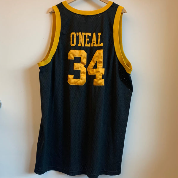 Nike Shaquille O'Neal Los Angeles Lakers '57 Rewind Swingman Basketball Jersey