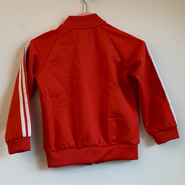 Youth Adidas Red Tracksuit