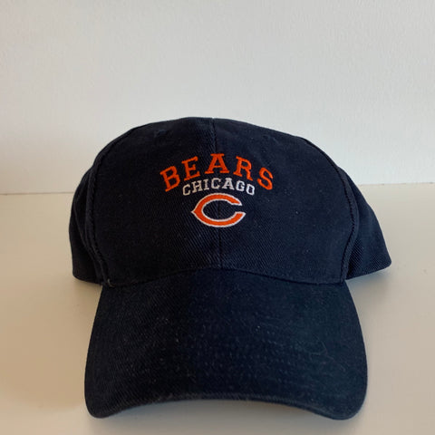 Chicago Bears Navy Blue/Orange/White Strapback