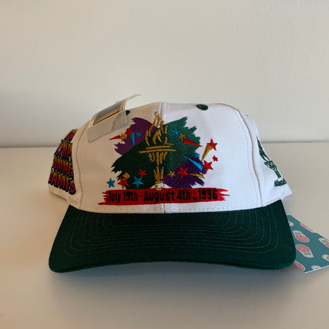 The Game 1996 Atlanta Olympic Summer Games White Snapback