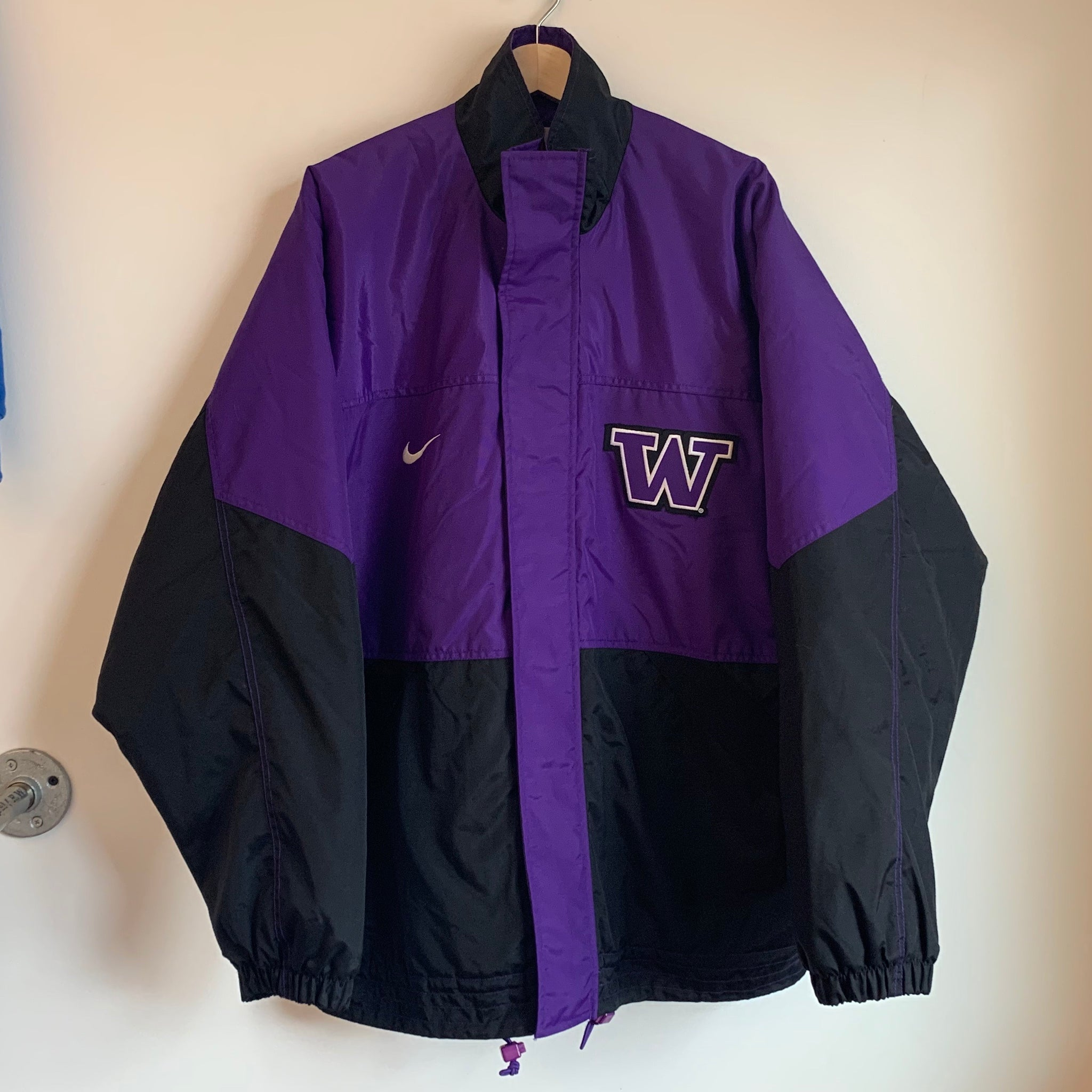 Nike Washington Huskies Purple Parka Jacket