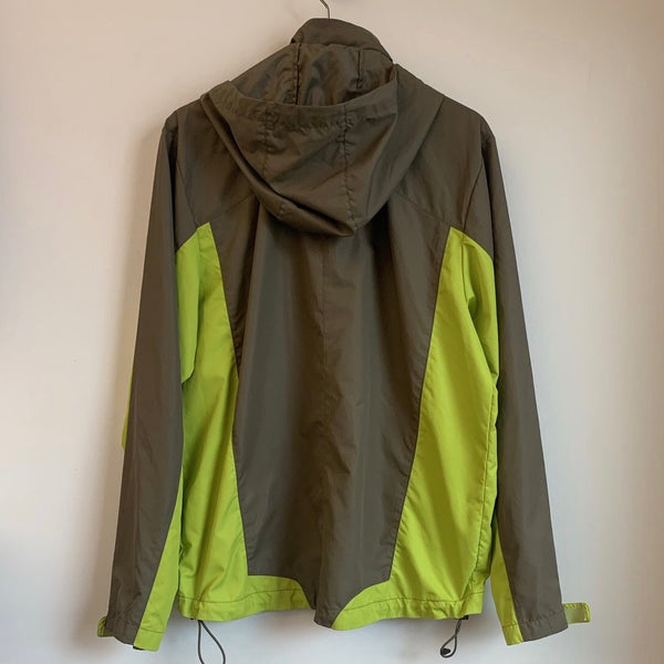 Nike ACG Gray & Green Windbreaker Jacket