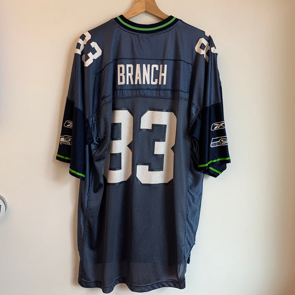 Reebok Deion Branch Seattle Seahawks Football Jersey